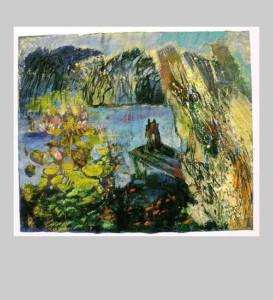 Maren Simon - Malerei - Leise