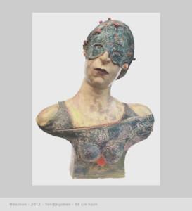 Maren Simon - Portraitplastik frei erfunden